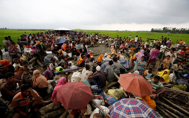 US urges Myanmar to stop violence in Rakhine state
