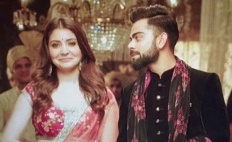 Anushka shoots ad with beau Virat Kohli