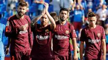 La Liga: Late Paulinho winner saves Barca
