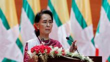 Suu Kyi appeals to global community over Rohingya crisis