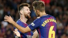 Barca maintain perfect start as Messi hits four