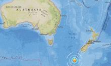 Magnitude 5.8 earthquake strikes southwest coast of New Zealand