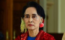 Aung San Suu Kyi award suspended by UK union over Myanmar crisis