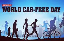 World Car Free Day today