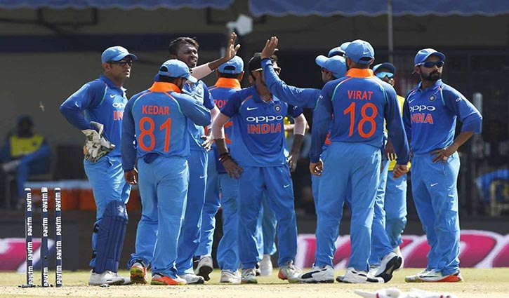 India win ODI series against Australia to move top of rankings