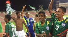 Bangladesh boys relish historic win over Qatar