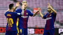 Barca win at empty Camp Nou