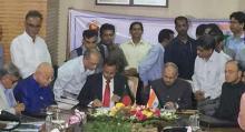 Bangladesh-India ink $4.5bn 3rd LoC deal