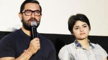 Zaira Wasim finest actor in Hindi film industry, says Aamir Khan
