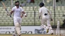 Bangladesh 92 for 4 at lunch on day 3 in 2nd Test