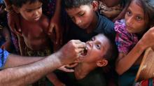 Oral cholera vaccination campaign kicks off at Rohingya camps