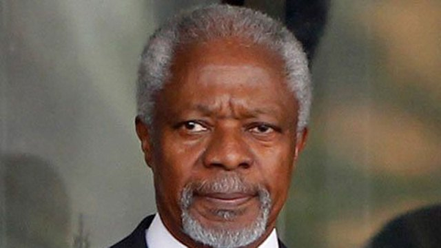 UNSC must push Myanmar to let refugees return: Kofi Annan