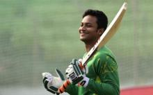 Shakib fastest to score 5000 runs and claim 200 wickets in ODI