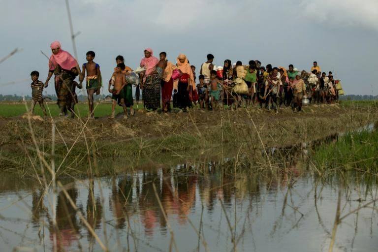 582,000 Rohingya to Bangladesh from Myanmar since August 25: UN