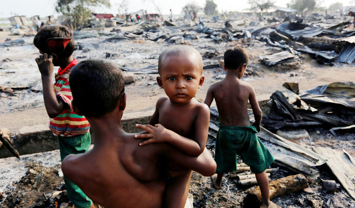 Myanmar committed crimes against humanity: Amnesty
