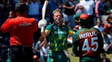 SA amass 353 for 6 in 2nd ODI
