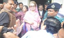 Khaleda Zia gets bail  in two graft cases