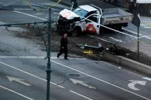 NY truck attack by IS 'lone wolf' kills 8