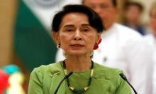 Myanmar's Suu Kyi visits troubled Rakhine