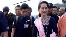 Suu Kyi urges people 'not to quarrel' amid persecution of Rohingyas