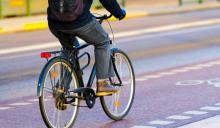 Riding a bike to work keeps you more physically active