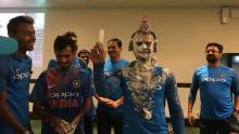Cake Face! Virat Kohli celebrates birthday with teammates in style
