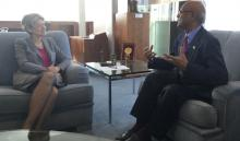 Nahid lauds UNESCO DG's role to recognize Bangabandhu's speech