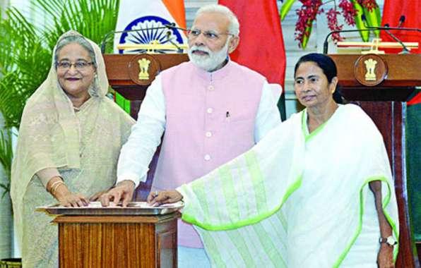 Hasina, Modi flag off Khulna-Kolkata rail service
