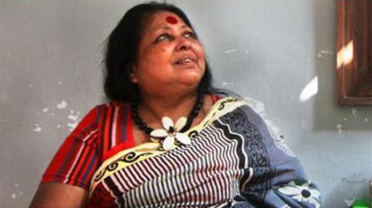 Ferdousi Priyabhashini hospitalized