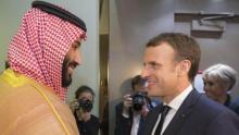 France's President Macron begins Saudi visit, amid Lebanon crisis