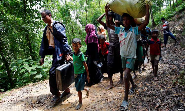 Hostile terrain slows aid delivery to Rohingyas: IOM