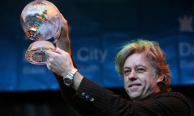 Bob Geldof hands back Freedom of Dublin in Aung San Suu Kyi protest