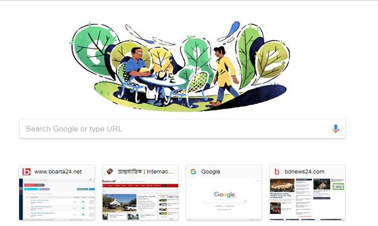 Google Doodle celebrates Bangladeshi writer Humayun Ahmed's birthday