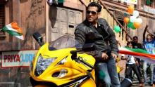 Salman unveils 'Race 3' look