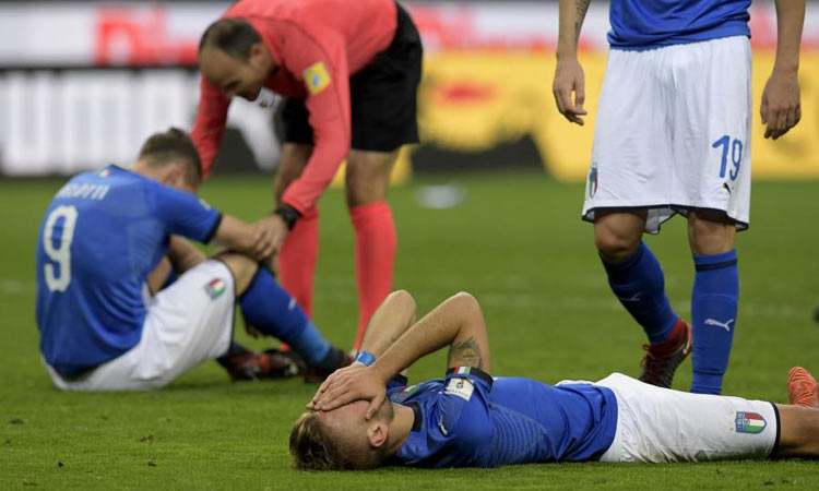 Dismay as Italy misses out on World Cup