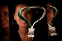 Largest diamond ever auctioned sold for record $34 mn in Geneva