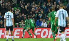 Nigeria rally to stun Argentina, Russia hold Spain to draw in friendlies