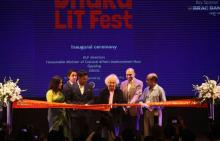 Enthusiastic literature-lovers throng Dhaka Lit Fest