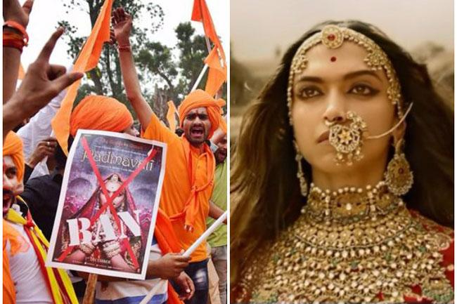 'Padmavati' row: Karni Sena threatens to cut Deepika's nose