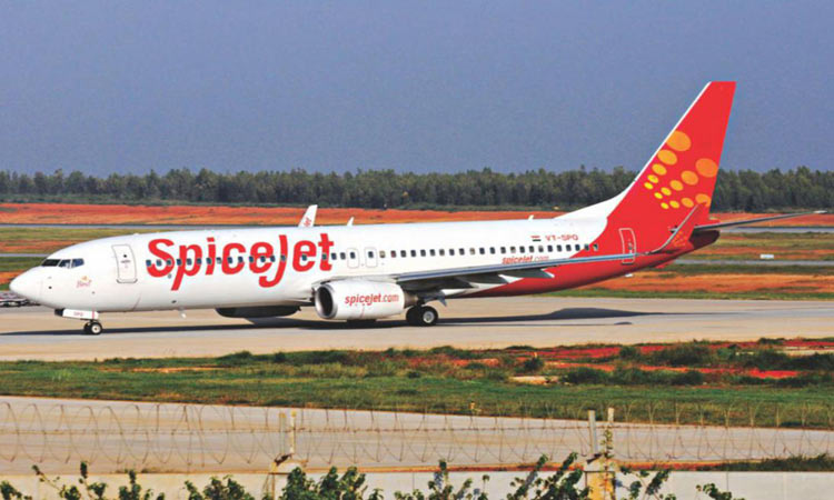 SpiceJet aircraft catches fire at Shahjalal  Airport