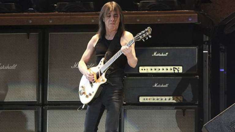 Rock legends salute Malcolm Young on AC/DC founder's death