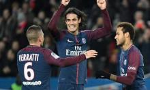 Cavani scores twice as league leader PSG routs Nantes 4-1
