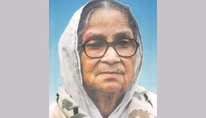 Sufia Kamal's death anniversary on Monday