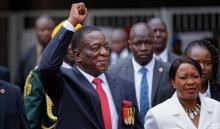 Zimbabwe's new President sworn in