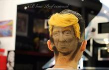 Strangest Trump like hairstyle!