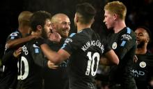 Man City set win record, Lukaku lifts Man Utd