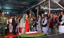 PM pays homage to Bangabandhu on Victory Day