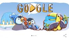December global festivities marked with Google Doodle