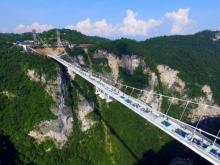 Dare to walk on world's longest glass bridge ?