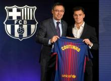 Coutinho officially signs for Barcelona
